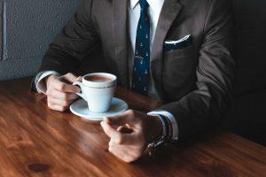 koffie bij AETHON CHAUFFEURSSERVICE